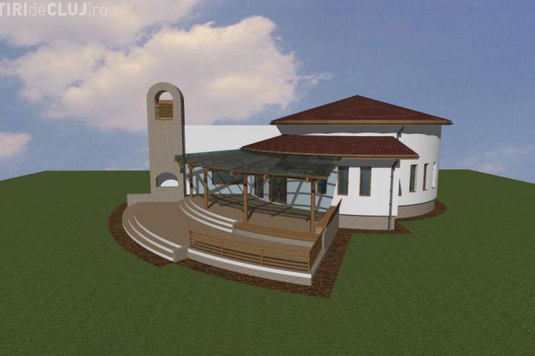 Capela mortuara in valoare de 130.000 de euro, construita in comuna Viisoara! Vezi cum va arata