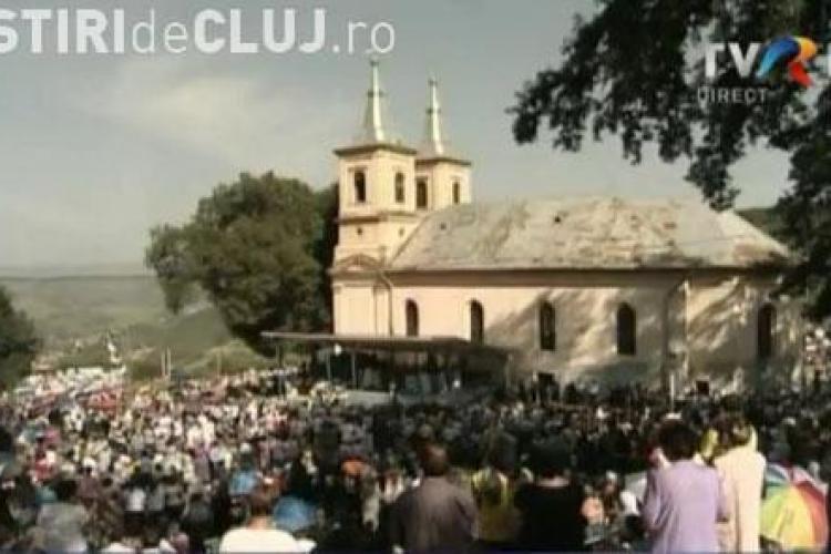Zeci de mii de pelerini sunt asteptati in weekend la Nicula, la sarbatoarea Adormirii Maicii Domnului. Vezi programul!