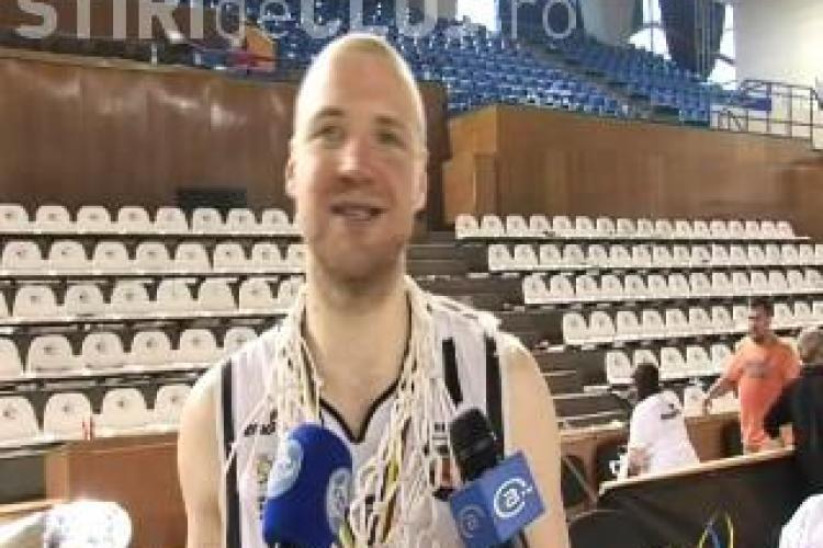 Capitanul lui U Mobitelco, Mihai Silvasan, a inscris 33 de puncte in amicalul Romania-Germania B