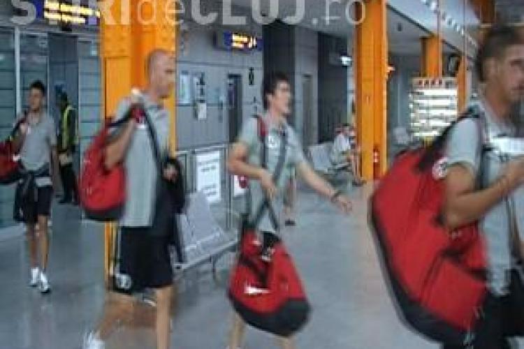 Antrenorul Universitatii Cluj, Ionut Badea, la revenirea din Italia: A fost un meci util, chiar daca am pierdut - VIDEO