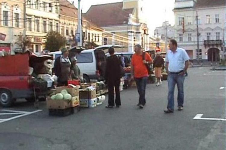 Piata volanta se muta din centrul Clujului. PDL si UDMR au cazut la pace!