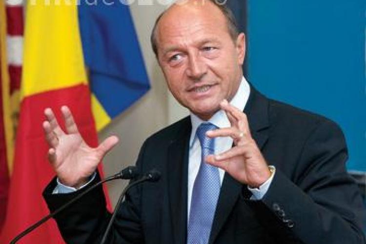 Traian Basescu ii critica pe bancheri VIDEO