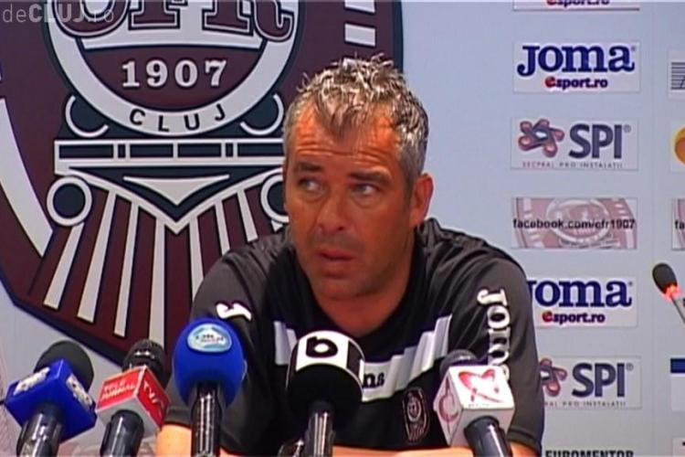 Antrenorul CFR Cluj, Jorge Costa, spera ca situatia lui Weldon sa fie rezolvata pana saptamana viitoare - VIDEO