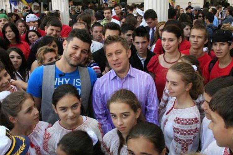 Preselectii Romanii au Talent, la Cluj-Napoca, marti, 6 septembrie