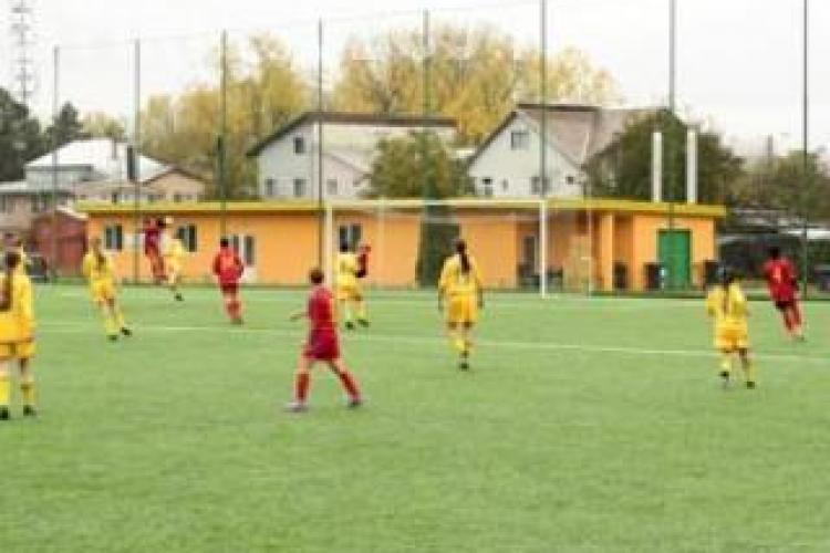 Olimpia Cluj va juca cu Olympique Lyonnais in 16-imile Ligii Campionilor