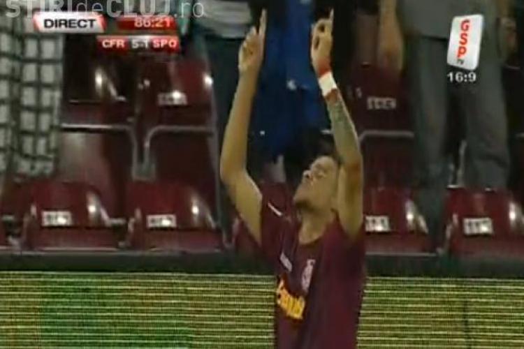 Gol Bastos! CFR Cluj - Sportul Studentesc 5-1 VIDEO