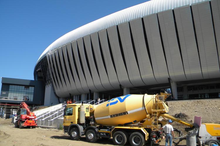 Cluj Arena este aproape finalizata! Vezi cum arata stadionul VIDEO si FOTO