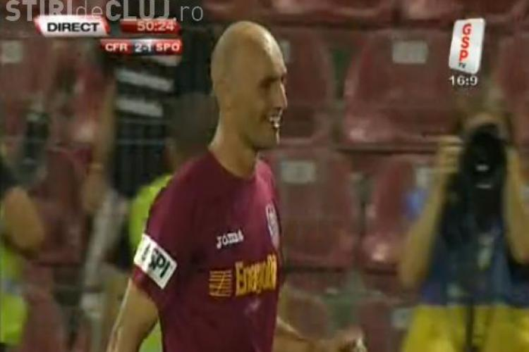 Gol Gabi Muresan! CFR Cluj - Sportul Studentesc 2-1 VIDEO