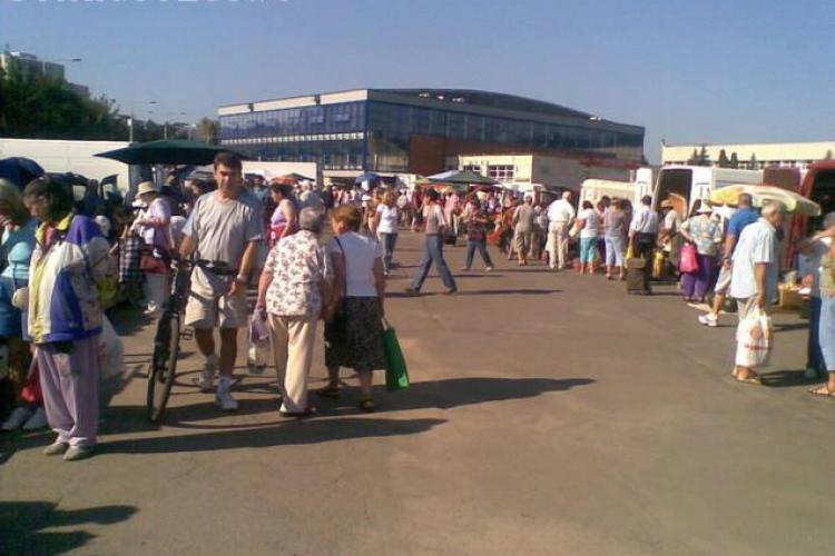 Peste 2.500 de clujeni au vizitat piata volanta de la Sala Sporturilor! Marti, 23 august, se deschide cea din Piata 14 Iulie
