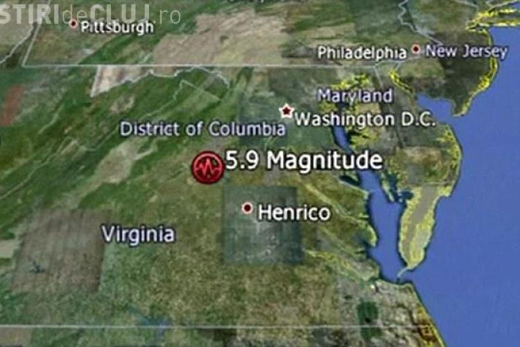 Cutremur de 5,9 grade pe scara Richter in Statele Unite. Pentagonul si Congresul au fost evacuate - VIDEO