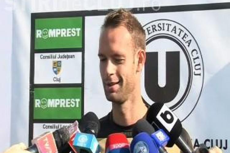 Tavi Abrudan, despre inaugurarea Cluj Arena: Daca jucam cu Kuban sau cu Ariesul Turda e tot una VIDEO