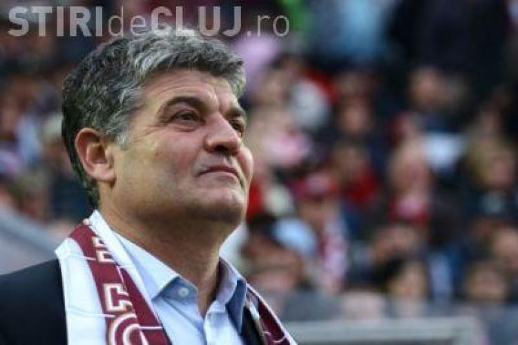 Andone in tribuna la CFR Cluj - Sportul! Il astepta pe Costa sa greseasca?