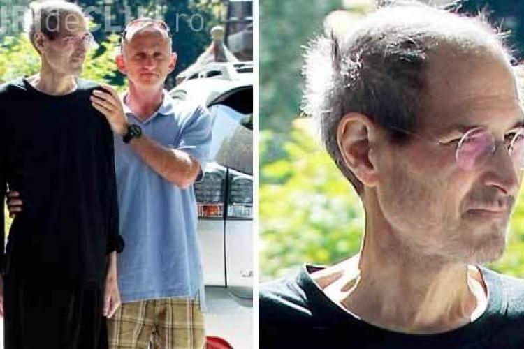 Steve Jobs este doborat de boala! Fotografii cu fostul sef al Apple