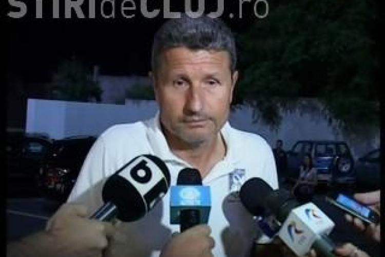 Multescu, dupa infrangerea cu CFR Cluj: Ma bate gandul sa plec de la Sportul VIDEO