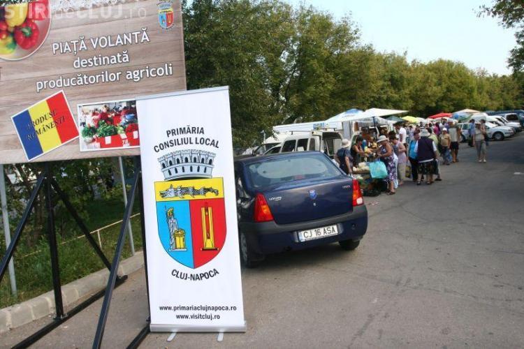 Cum a aratat piata volanta din cartierul Gheorgheni FOTO