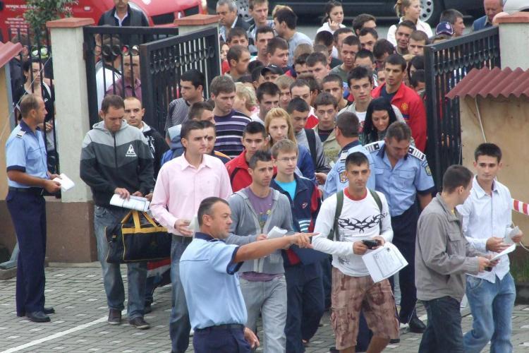 Admitere Scoala de Politie Cluj! Punctajul cel mai mare l-a obtinut o tanara