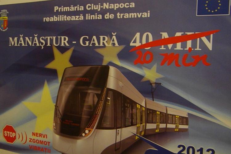 Primaria Cluj-Napoca cumpara peste 10 tramvaie noi in valoare de 60 de milioane de lei