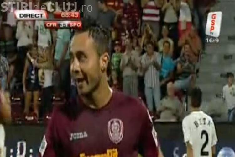 Gol De Zerbi! CFR Cluj - Sportul Studentesc 4-1 VIDEO