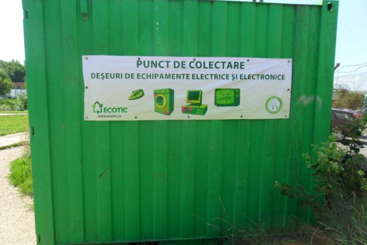 Colectare de deseuri electrice si electronice la Cluj, in 3 septembrie, organizata de Rosal si Primaria Cluj-Napoca