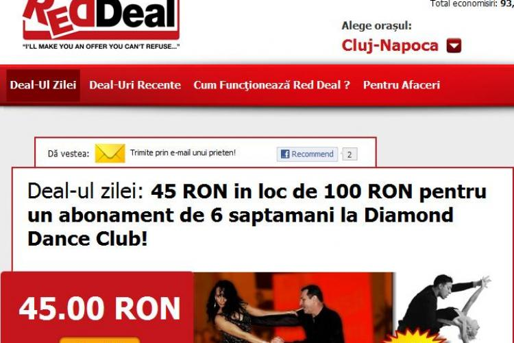 Deal-ul zilei: 45 de lei in loc de 100 de lei pentru un abonament de 6 saptamani la Diamond Dance Club! (P)