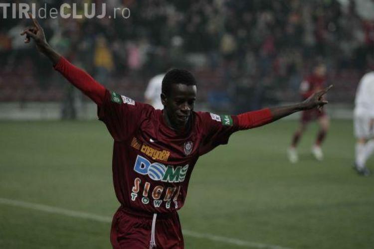Emmanuel Kone, dat disparut de CFR Cluj si convocat la comisia de disciplina