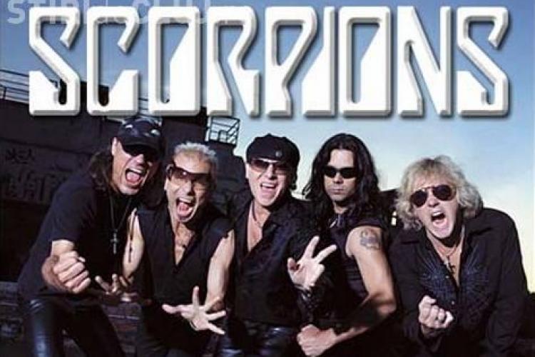Scorpions canta pe Cluj Arena! Vezi data concertului