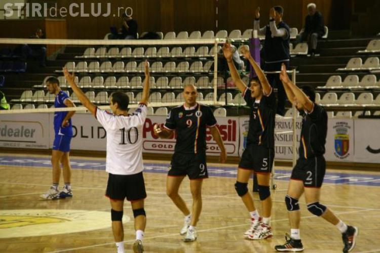Voleibalistii de la Universitatea Cluj se pregatesc de noul sezon. Vezi ce amicale si-au programat!