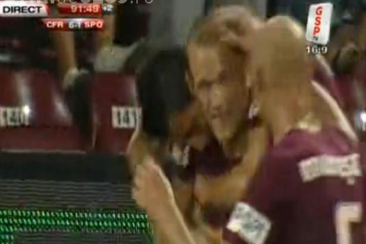Gol Kapetanos! CFR Cluj - Sportul Studentesc 6-1 VIDEO