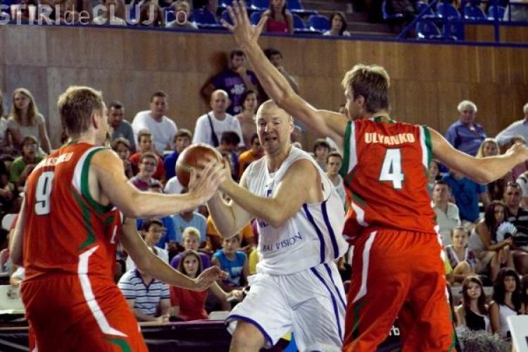 Romania a pierdut la Cluj meciul cu Belarus din preliminariile EuroBasket