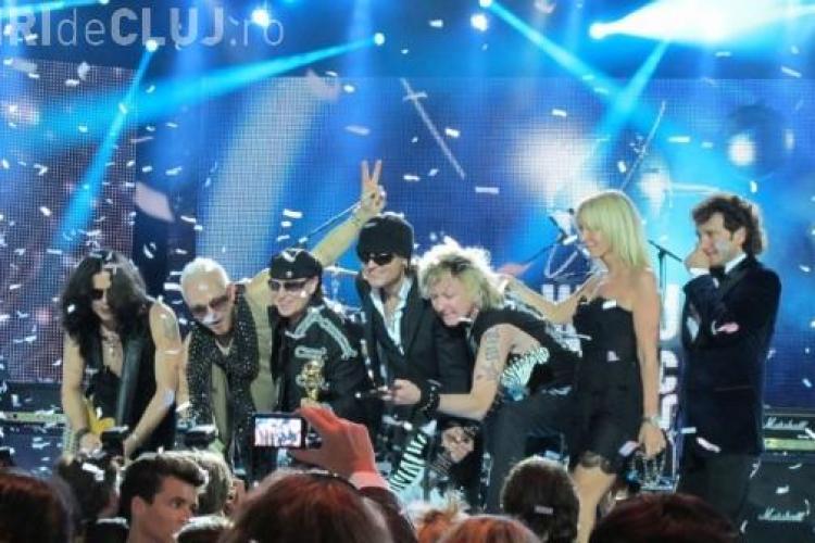 Concertul programat la Cluj de Scorpions a fost sters de pe site-ul oficial al trupei