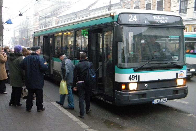 Noi documente pentru abonamentele gratuite pe mijloacele de transport din Cluj-Napoca