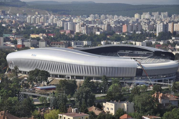 Oficialii U ii raspund lui Paszkany: Cluj Arena este facut pe vechiul Ion Moina, casa U Cluj