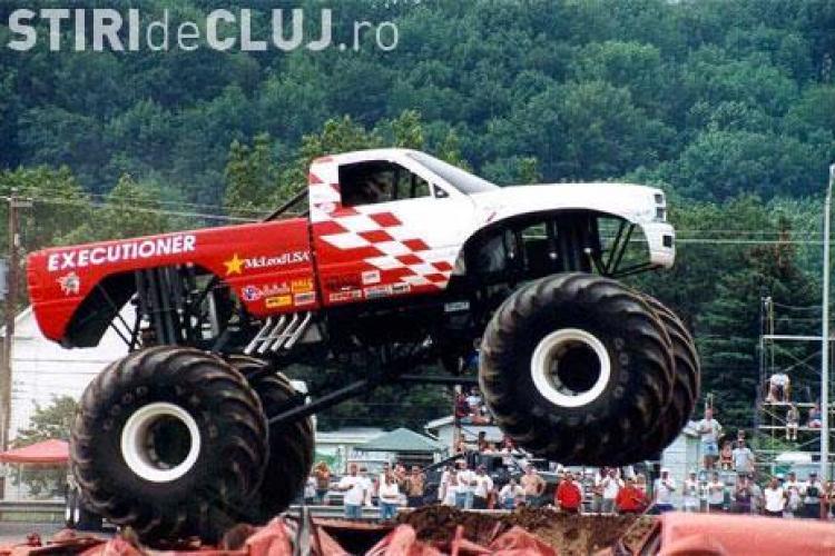 Monster Truck la Iulius Mall Cluj de astazi pana duminica