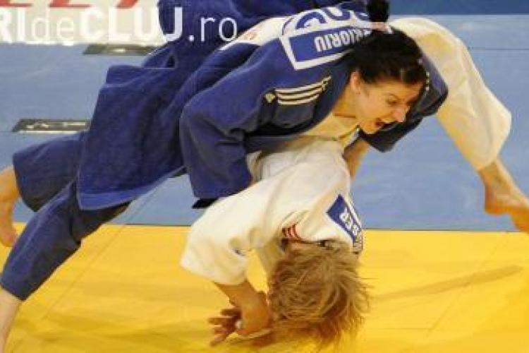 Sportiva legitimata la CS Universitatea Cluj, Corina Caprioriu, a luat bronzul la Mondialele de judo