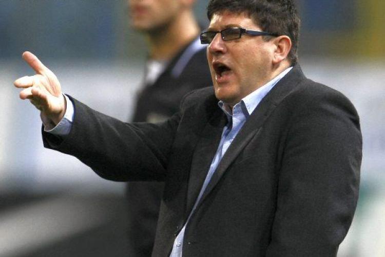 Antrenorul echipei Gaz Metan Medias, Cristi Pustai, vrea sa obtina calificarea la Cluj VIDEO