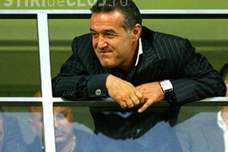 Becali jubileaza: CFR Cluj nu mai e campioana. Steaua are 5 % sanse de a lua titlul