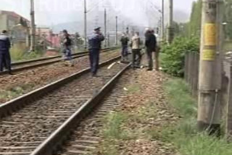 Incident feroviar Cluj. Un barbat a murit in zona podului Clujana. Victima a cazut din tren
