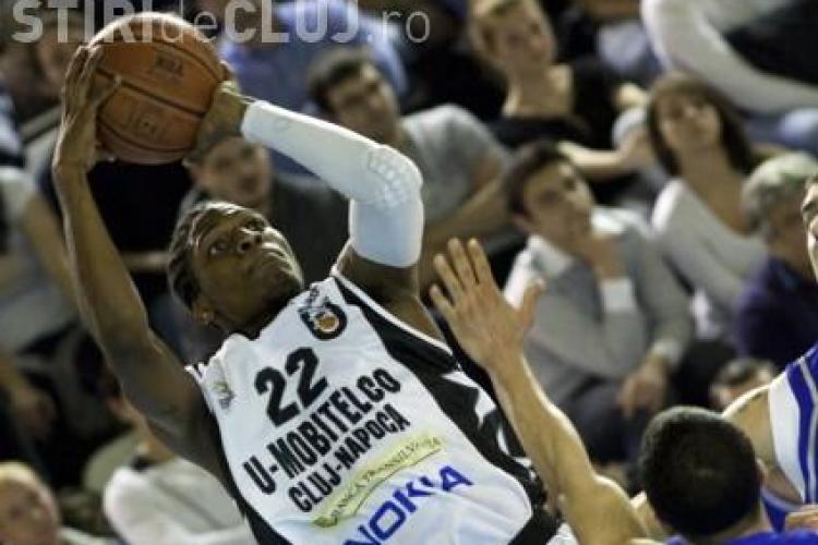 """""""U"""" Mobitelco a castigat categoric sezonul regulat al campionatului de baschet"""