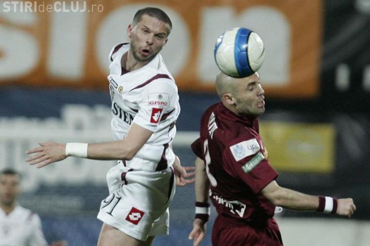 Arpad Paszkany: CFR Cluj a castigat trei puncte de aur cu Rapid Bucuresti
