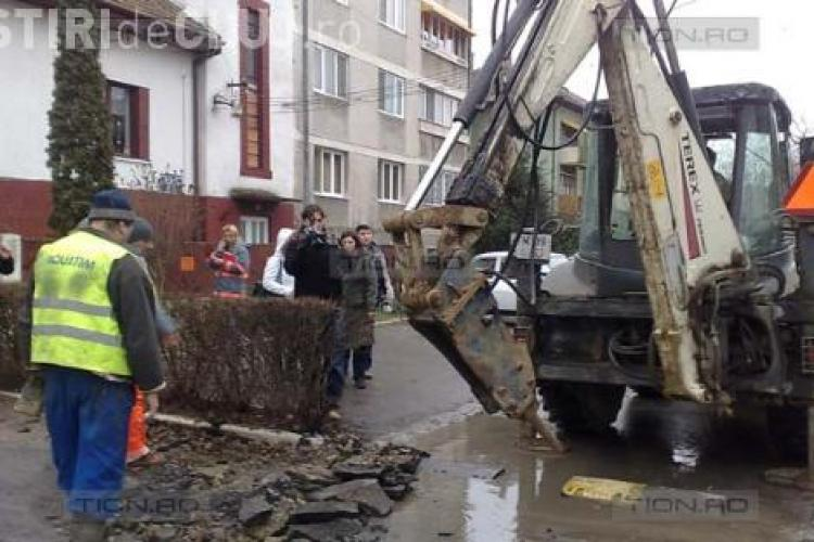 E-On gaz a spart strada Traian Mosoiu de 19 ori