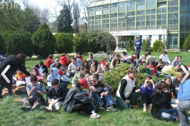 Studentii lanseaza in 8 mai curatenia de primavara in Gradina Botanica din Cluj-Napoca