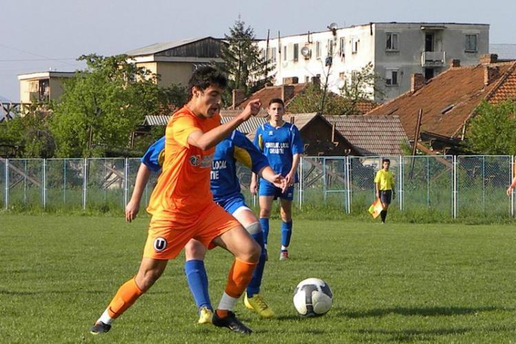 """Scor de maidan. """"U"""" Cluj - Dacicus Orastie 5-0"""