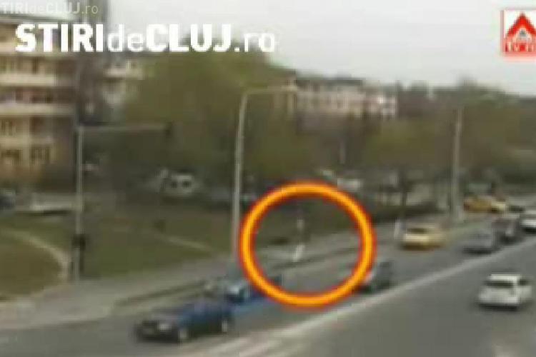 Imagini suprinse de o camera de supraveghere  cu bataia primita de batranul din Craiova care a murit- VIDEO