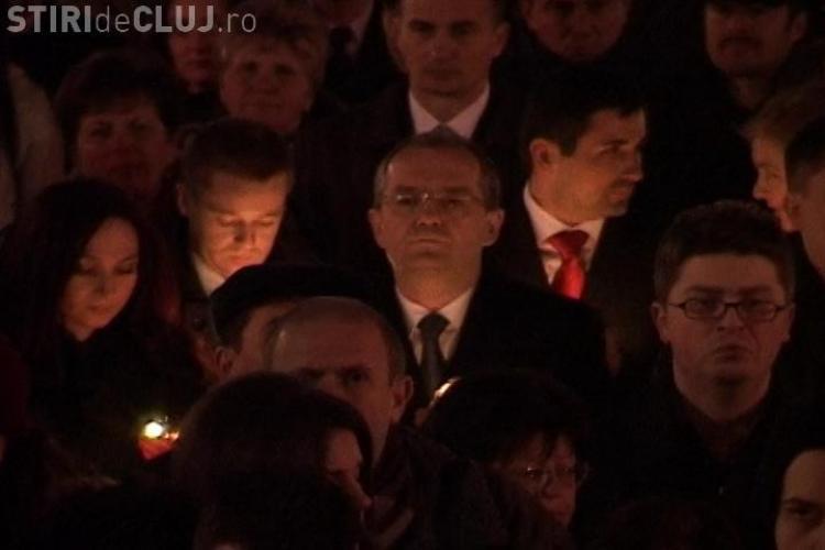 Emil Boc a participat la Slujba de Inviere oficiata in fata Catedralei Mitropolitane din Cluj-Napoca - VIDEO de la SLUJBA de INVIERE