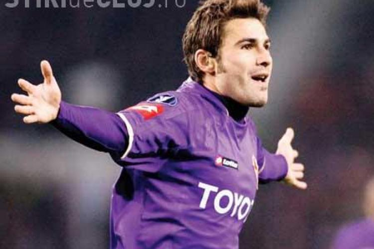 Adrian Mutu, evaluat de Fiorentina la 10 milioane de euro