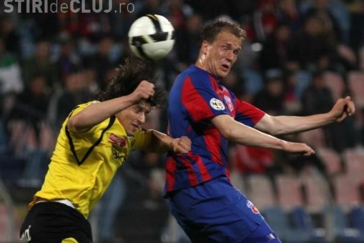 Steaua - FC Timisoara 3 - 3. CFR Cluj este aproape de castigarea campionatului