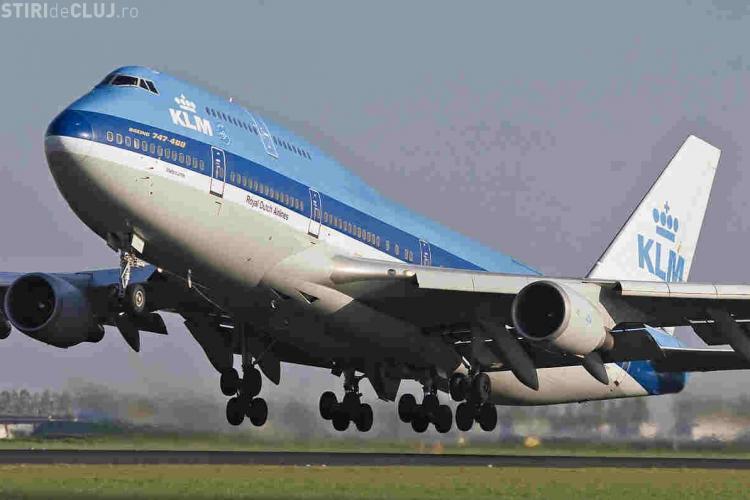 KLM si Lufthansa au trimis avioane in norul de cenusa