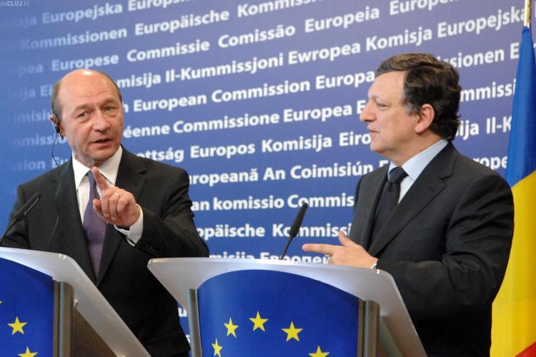 Presedintele CE, Jose Manuel Barroso, ingrijorat de cresterea deficitului din Romania