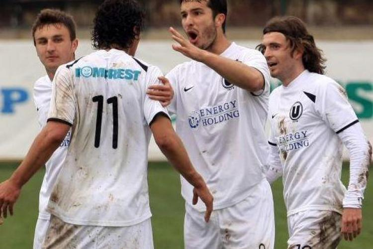 "LIVE TEXT: ""U"" Cluj - Dacia Mioveni 2 - 1 - FINAL"