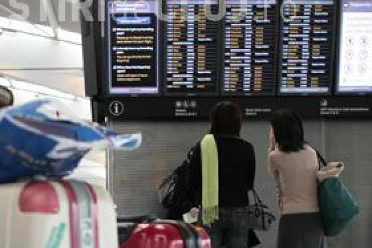 Cursele aeriene spre Londra, Dortmund si Paris au fost anulate
